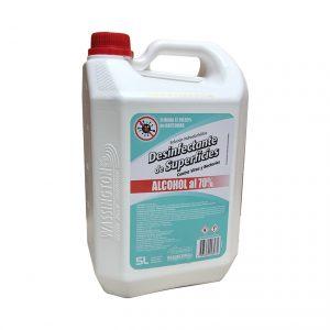 Desinfectante de Superficies Alcohol Etílico al 70% Wassington